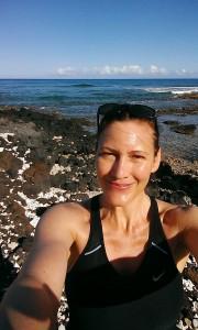 Mid point on run near Waikoloa