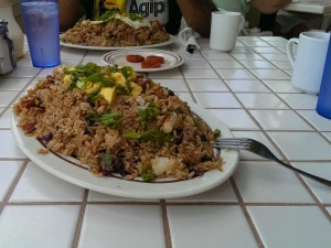 Gazebo Fried Rice - get the 1/2 serving