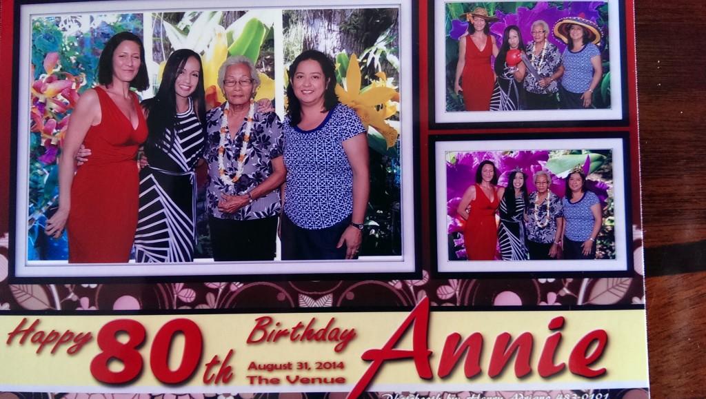 Annie's Birthday 2014
