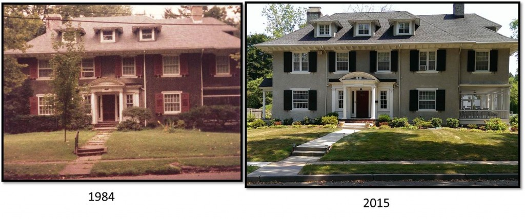 Addams Family Mansion - Then & Now