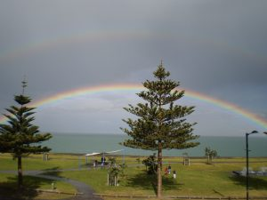 Rainbow over Hawkes Bay