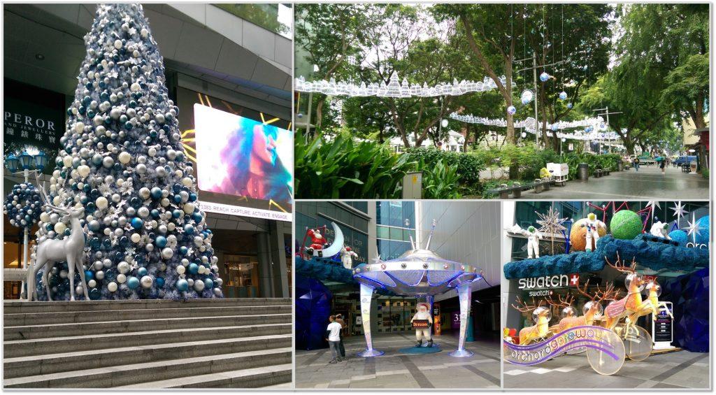 Singapore Christmas Decorations