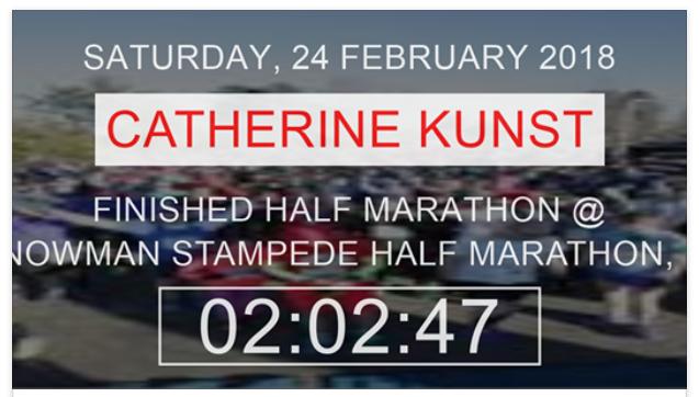Half Marathon Results